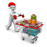 Chirstmas celebration and shopping concept Royalty Free Stock Photo
