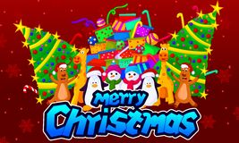 Chirstmas. Merry chirstmas 2016 Stock Images