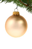 Chirstmas ornament. Christmas ball with copyspace (also on the ball itself Stock Photography