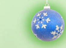 Chirstmas ornament hanging Royalty Free Stock Photography