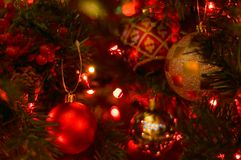 Chirstmas Ornaments II Royalty Free Stock Photos