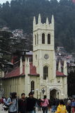 The Chirstus Church of Shimla Stock Images