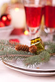 Chirtmas composition Royalty Free Stock Photo