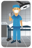 chirurg Fotografia Stock