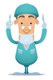 Chirurg stock illustratie
