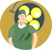Chirurg vector illustratie