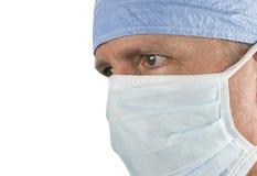 Chirurg z maską zdjęcia royalty free