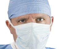 Chirurg z maską Fotografia Royalty Free