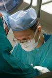 Chirurgen in verrichtingsruimte Royalty-vrije Stock Foto