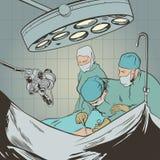 chirurghi Fotografia Stock Libera da Diritti