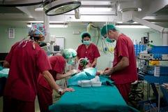 Chirurgia del bambino Immagini Stock