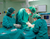 Chirurgia dell'ospedale immagini stock