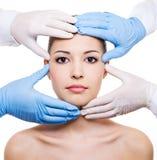 Chirurgia plastica Immagini Stock Libere da Diritti