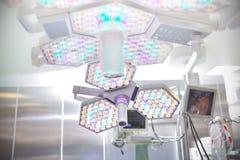 Chirurgicznie lampa w sala operacyjnej obrazy stock