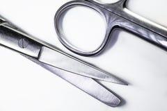 chirurgicznie nożyczki zdjęcia stock