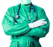 chirurgie allante de chirurgien image libre de droits