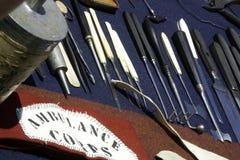 Chirurgie de guerre civile Photographie stock libre de droits