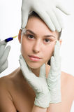 Chirurgie plastique Photographie stock libre de droits