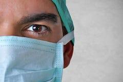 chirurgien de masque protecteur Image libre de droits