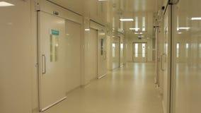 Chirurgieruimten in het ziekenhuis stock video