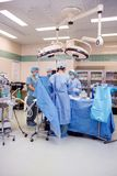 Chirurgisch Theater royalty-vrije stock afbeeldingen