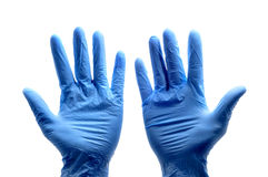 Chirurgische Handschuhe Stockbilder
