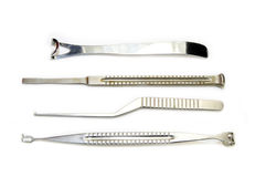 Chirurgische Instrumente stockbild