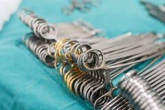 Chirurgische Instrumente für Chirurgie lizenzfreies stockbild