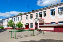 Chirurgische Klinik des chirurgischen Gebäudes der Vitebsk-Staats-Akademie von Veterinärmedizin, Weißrussland Stockfotografie
