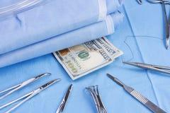 Chirurgische Kosten Stock Afbeeldingen