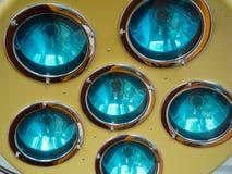 Chirurgische lamp Stock Afbeeldingen