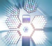 Chirurgische Lampe. Lizenzfreie Stockbilder