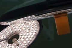 Chirurgische Lampen auf der Decke in den Operationsräumen stockfotos