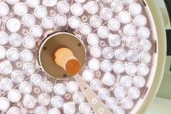 Chirurgische lampen in verrichtingsruimte Royalty-vrije Stock Foto