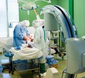 Chirurgische operatie Stock Afbeeldingen