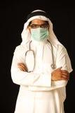 Chirurgo arabo del medico Fotografie Stock