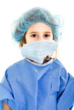 Chirurgo del bambino in uniforme dell'ospedale Immagine Stock
