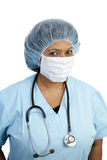 Chirurgo di minoranza Fotografie Stock
