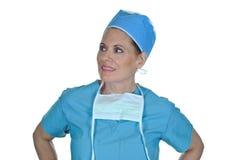 Chirurgo femminile attraente Fotografia Stock