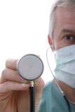 Chirurgo maschio Fotografie Stock