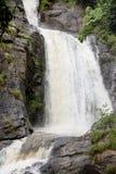 Chisanga vattenfall på den Nyika platån Royaltyfri Foto