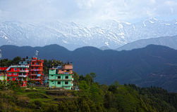 Chisapani, das Kathmandutal Stockbild