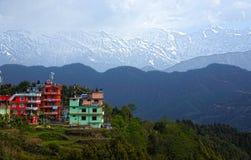 Chisapani, la valle di Kathmandu immagine stock