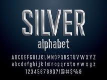 Chisel font royalty free illustration