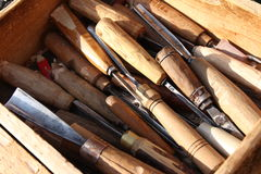 Free Chisel Old Tool Stock Photography - 51605362