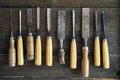 Chisel Set Royalty Free Stock Photos