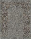 Chiseld lättnad i granit Fotografering för Bildbyråer