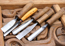 Chisels Stock Image