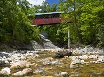 Chiselville被遮盖的桥 库存照片