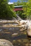 Chiselville Bridge and Brook Stock Photo